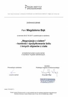 Magdalena Bąk psycholog Łódź